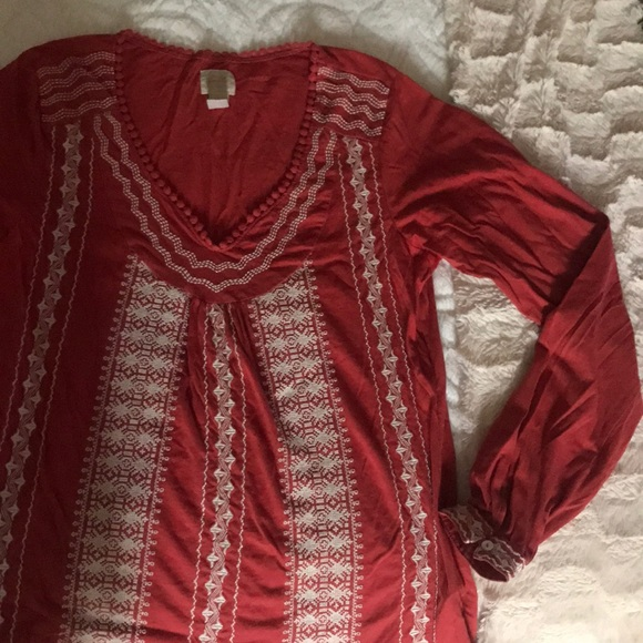 Lucky Brand Tops - Lucky Brand ladies boho long sleeve